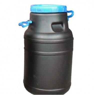 Купить Бидон пластиковый чёрный 50л  непищевой в Харькове
