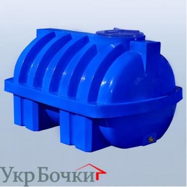 Емкость горизонтальная RG1500/ребро