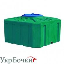 Емкость квадратная RK300/куб-зеленая