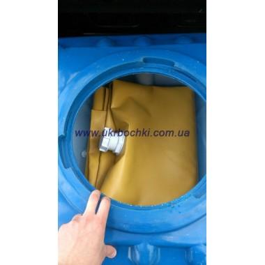 Гибкий резервуар в пластиковом