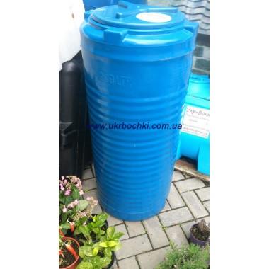 Узкая двухслойная емкость на 200 литров