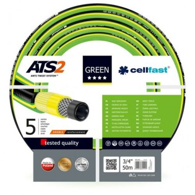 Шланг 1/2 CellFast Green 25м